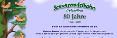 Sommerrodelbahn Ibbenbüren (ca. 6 km)